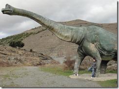 Brontosaurus, Enciso, La Rioja