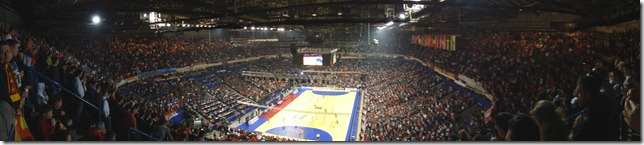 Serbia - Croatia, 2012 European Handball Championship, Belgrade Arena, Serbia