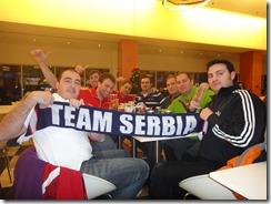 Furia Conquense, 2012 European Handball Championship, Belgrade Arena, Serbia