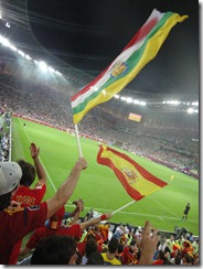 Croatia - Spain, Euro 2012, Gdansk Arena, Poland